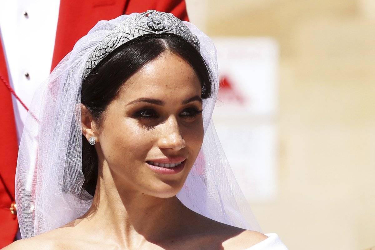 Meghan Markle lució una tiara de María de Teck AP