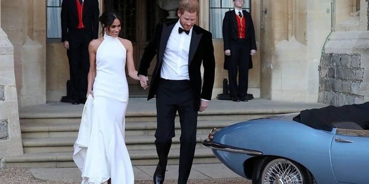 Harry y Meghan Markle se cambian de vestuario para la segunda recepción