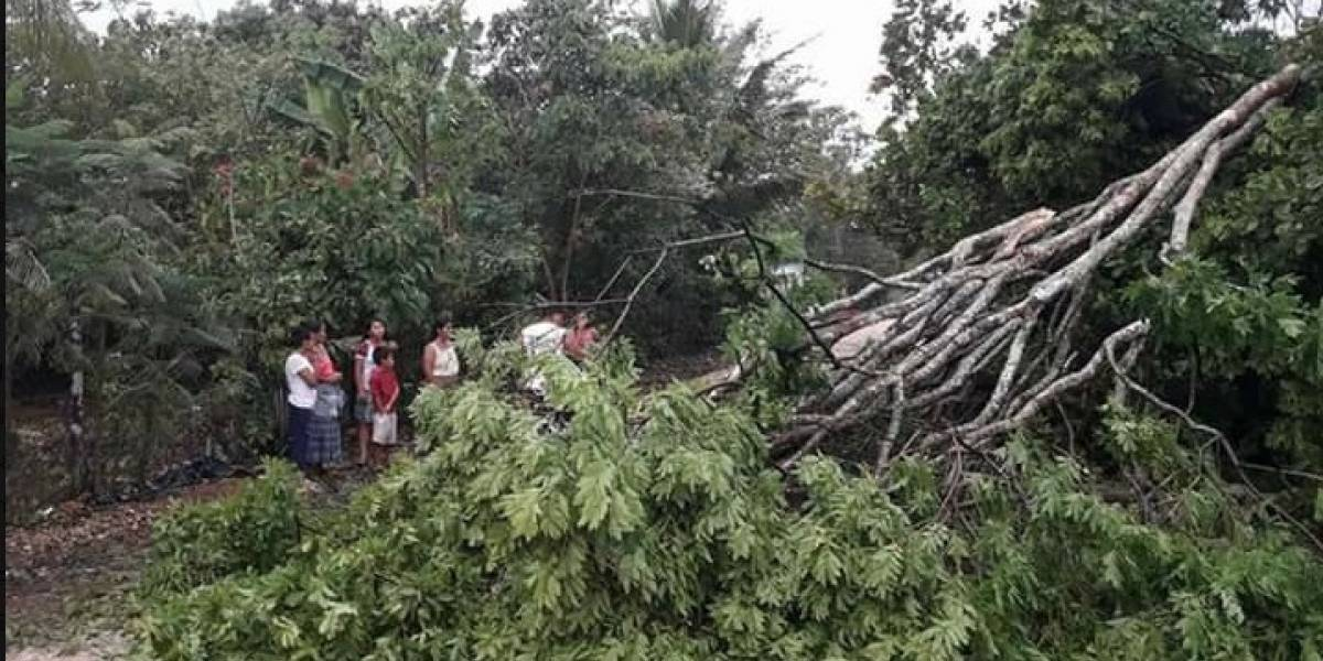Un muerto y más de 30 mil afectados por lluvias en Guatemala