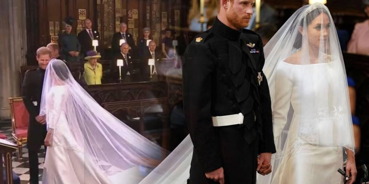 Sencillo pero elegante: Meghan Markle eligió un vestido de novia Givenchy para la boda real