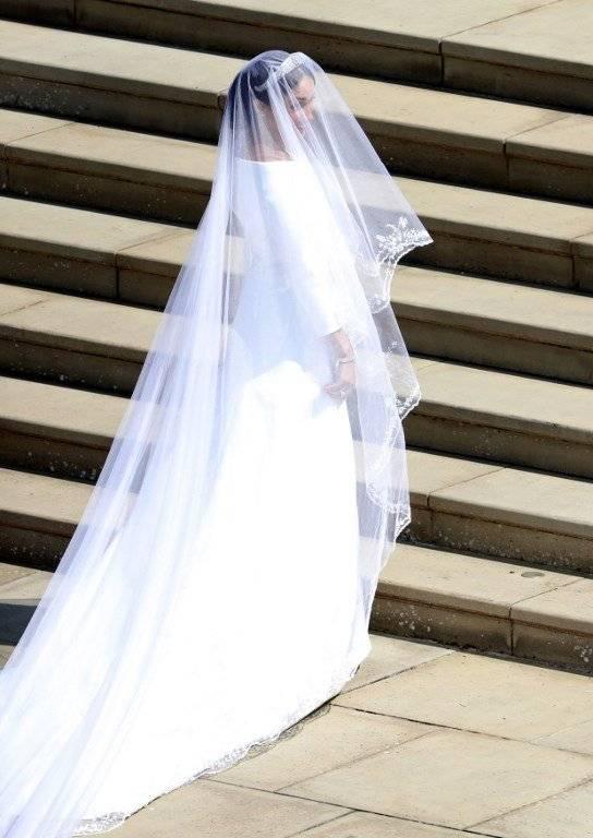 Meghan Markle y el príncipe Carlos Foto: AFP