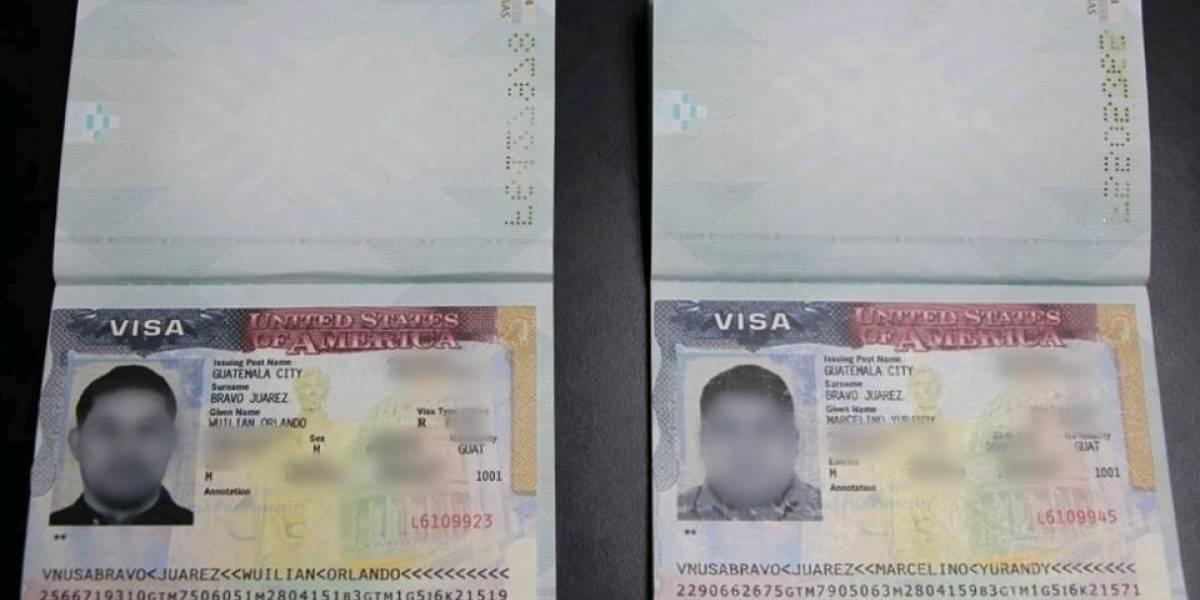 Quisieron viajar a EE.UU. con visa falsa y fueron capturados en su intento