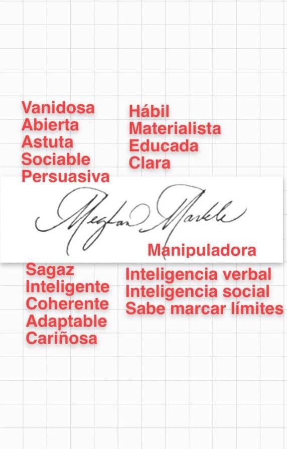 Maryfer Centeno analiza para Publimetro las firmas del príncipe Harry y Meghan Merkle Foto: Publimetro