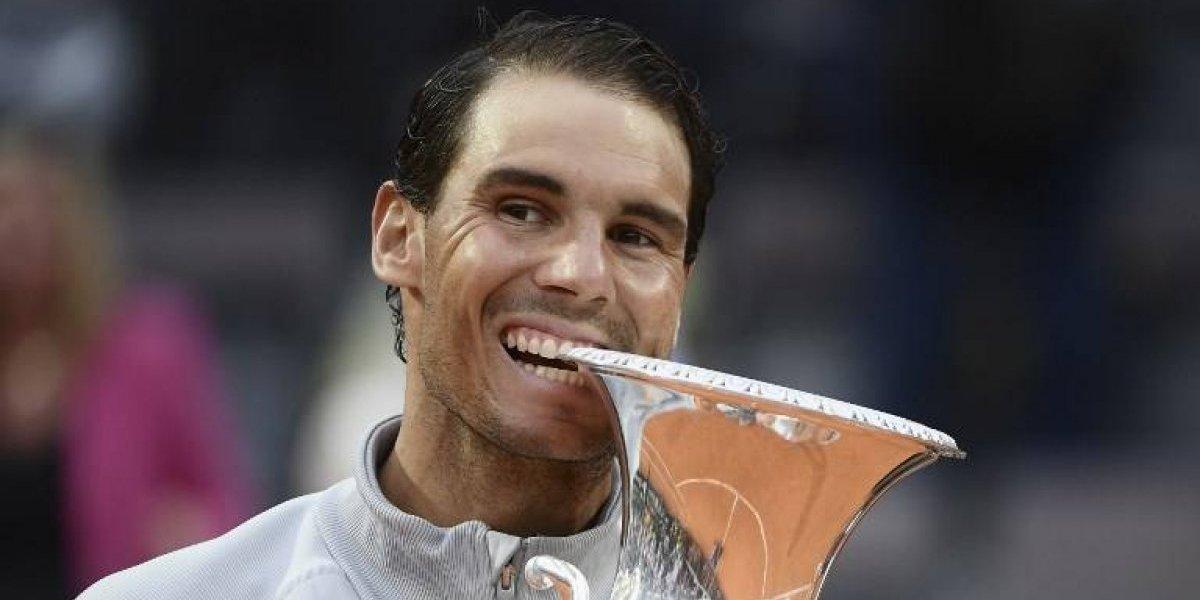 Rafael Nadal volverá al número 1 del ranquin de la ATP luego de un nuevo triunfo