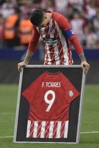 El regalo que recibió Torres de parte del Atlético