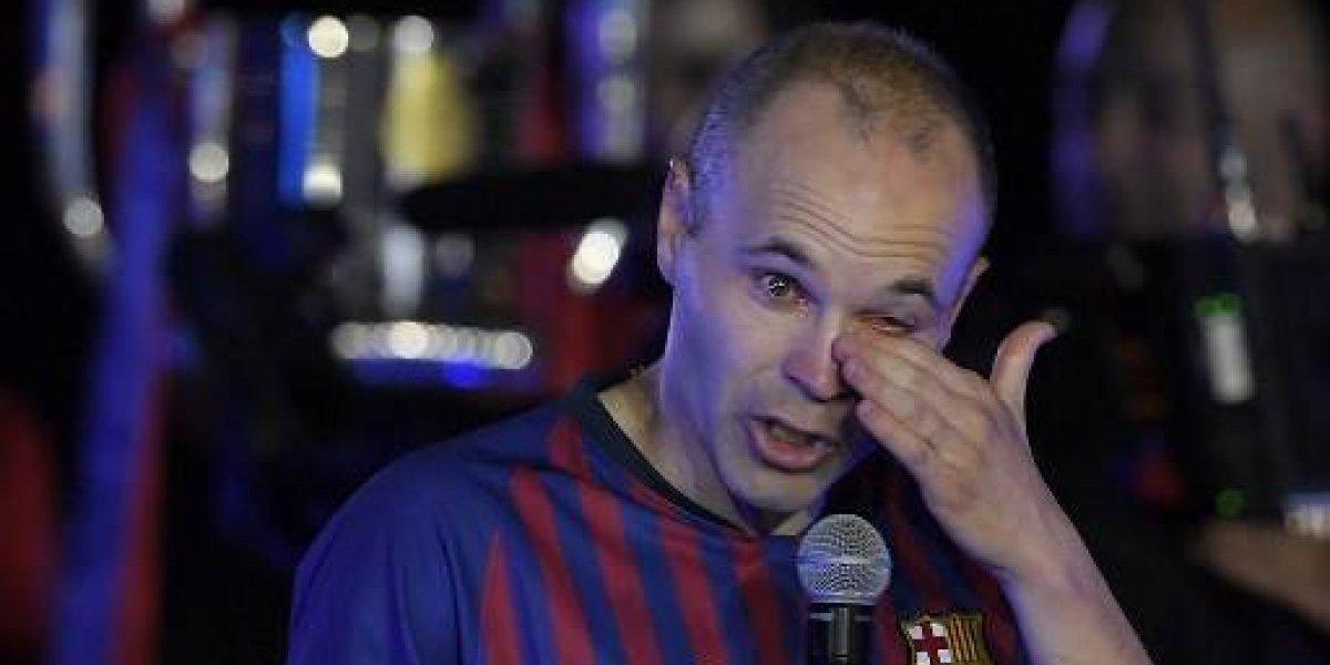 VIDEO. Las últimas palabras de Iniesta como jugador del FC Barcelona