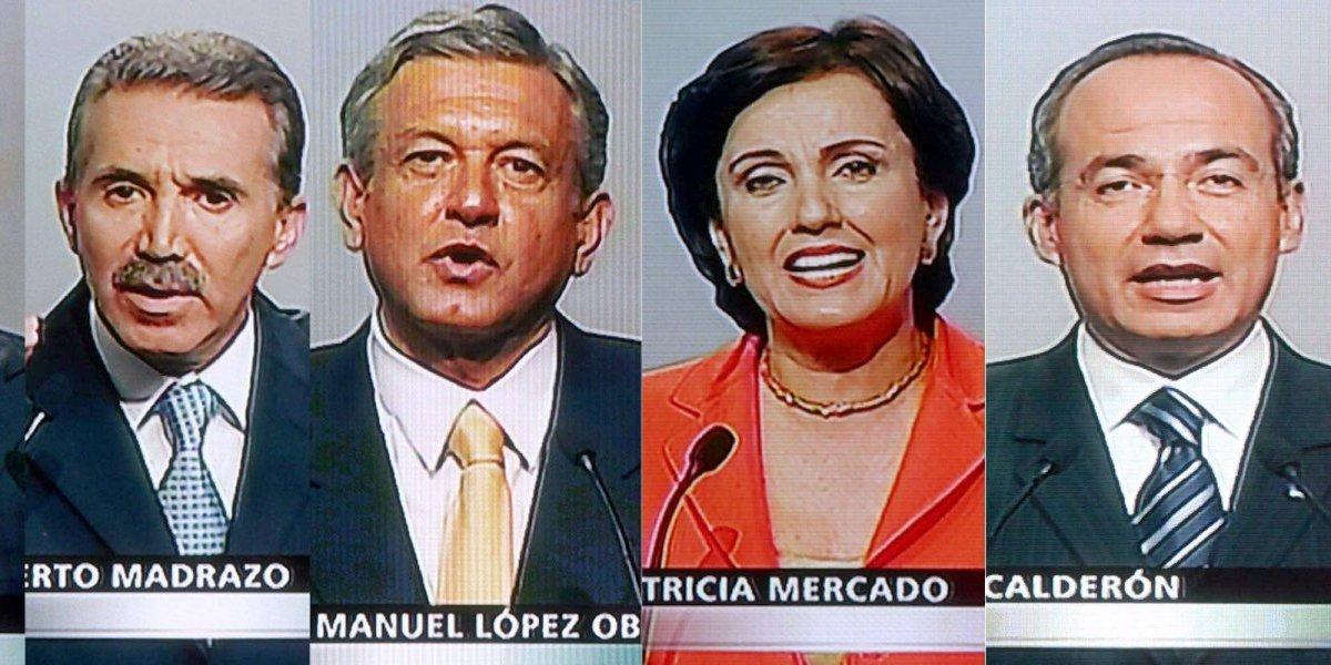 Fotos: Así era hace 12 años un debate presidencial