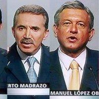 Los cinco candidatos presidenciales de 2006