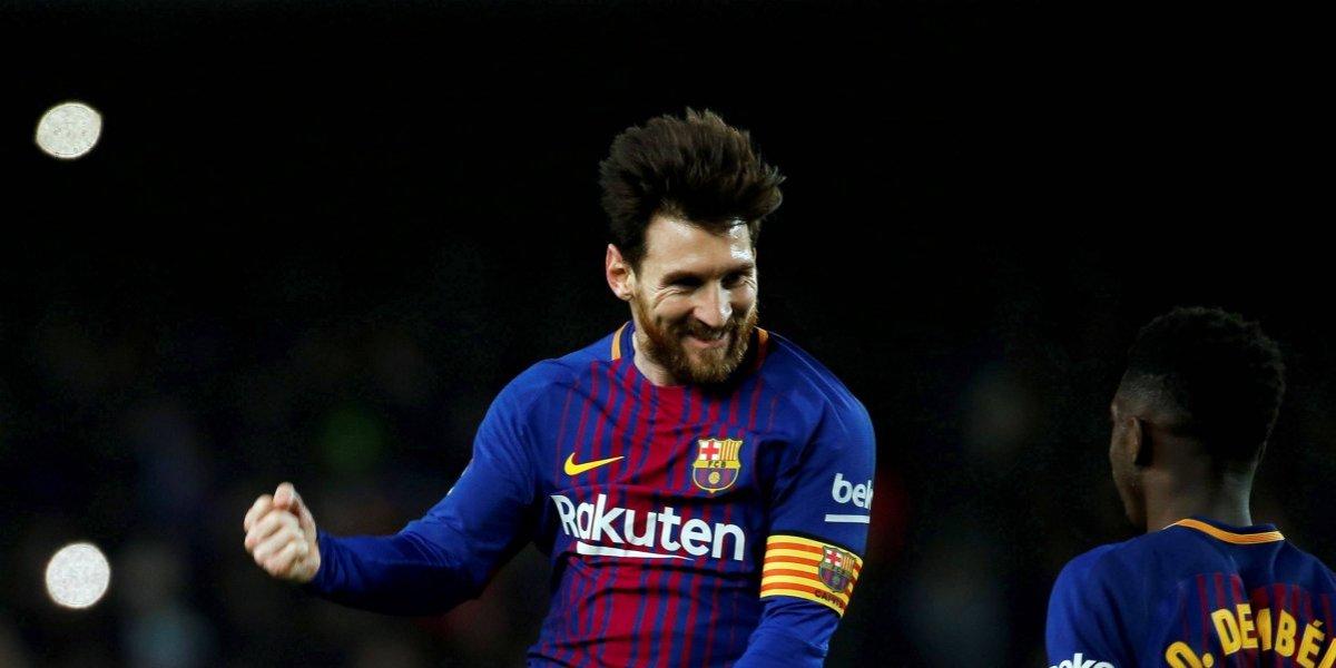 ¡El rey Leo! Messi se quedó con la Bota de Oro 2017-18
