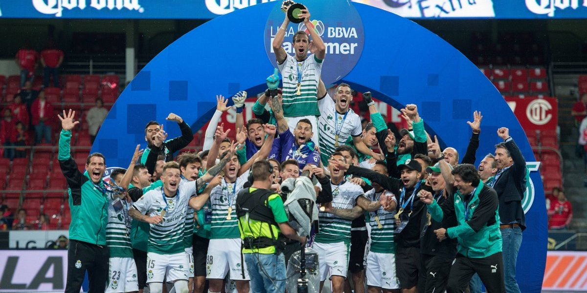 FOTOS: Así festejó Santos su sexto título de la Liga MX