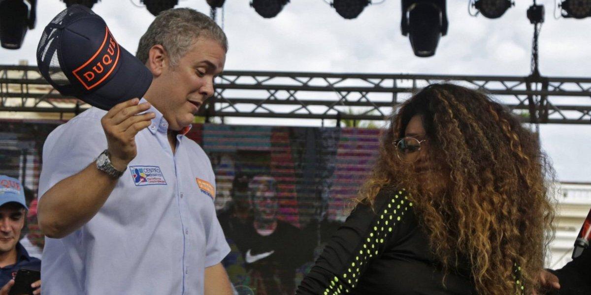 El 'sensual' baile de champeta de Iván Duque en Cartagena