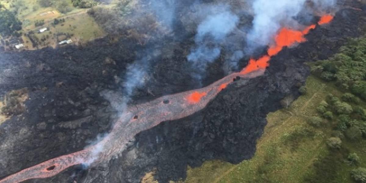 Erupción del volcán Kilauea deja el primer herido: hombre queda con la pierna destrozada tras ser golpeado por la corriente de lava