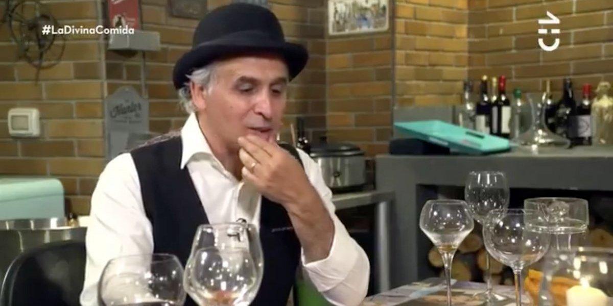 """La cuestionada actitud de Álvaro Scaramelli en """"La divina comida"""""""