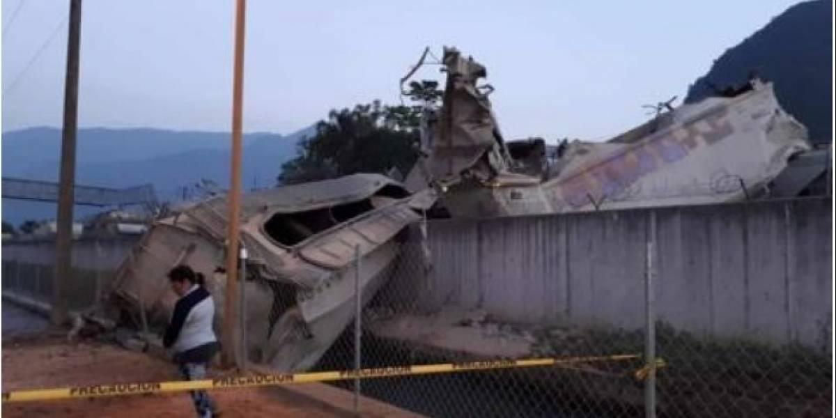 Error en asalto causó impacto de trenes en Veracruz