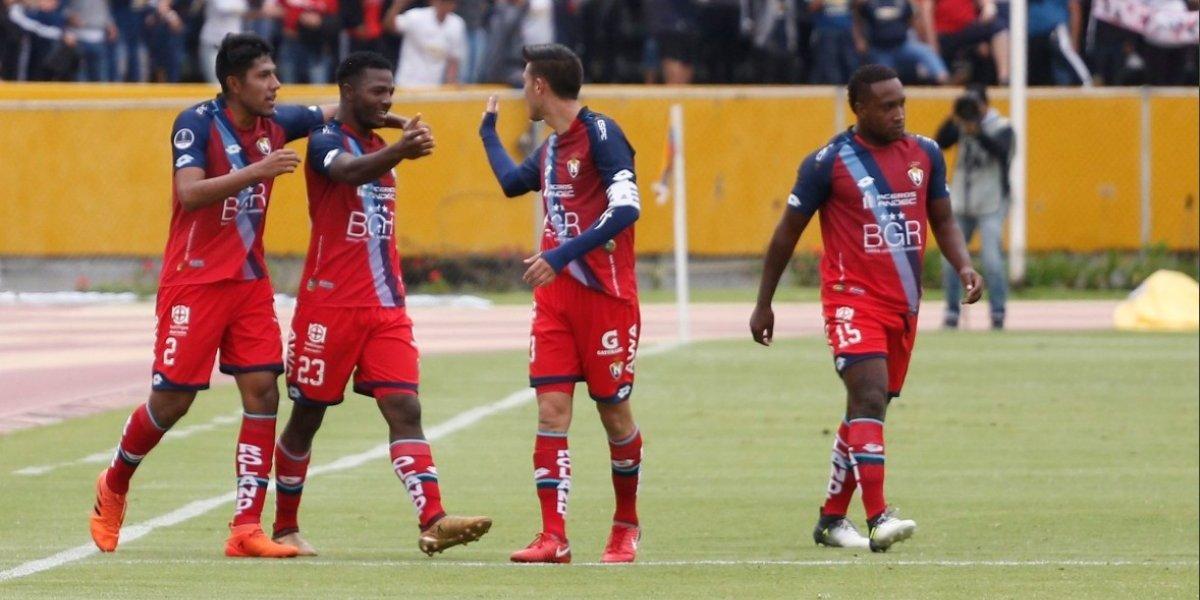 El partido entre El Nacional y Deportivo Cuenca se transmitirá en diferido