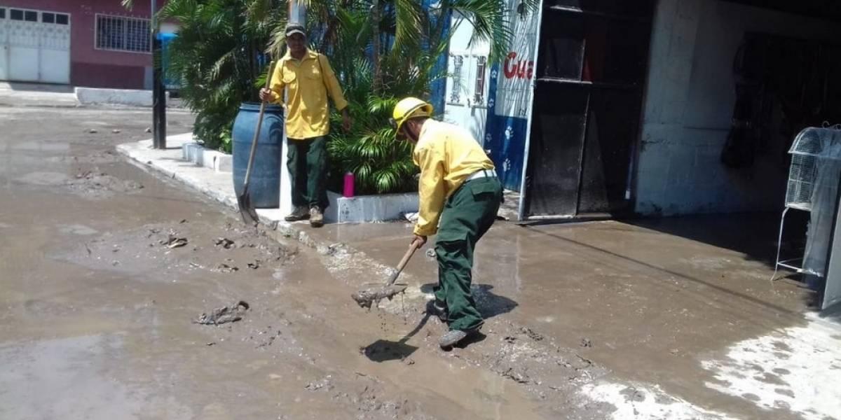Se duplica el número de personas afectas por la lluvia