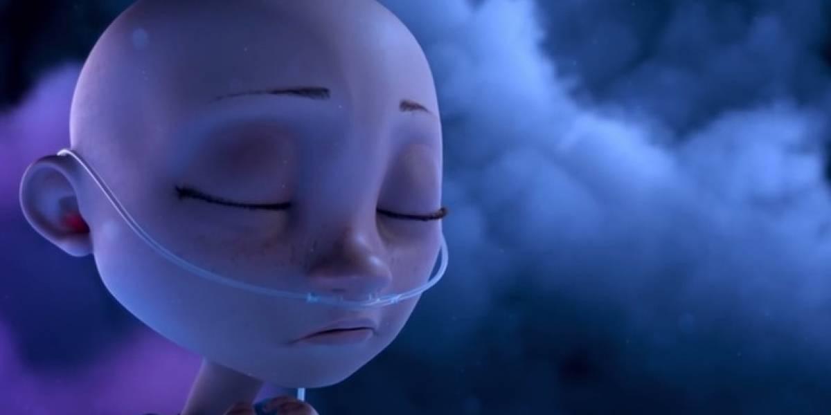 Animação que mostra garotinha descobrindo câncer viraliza; assista