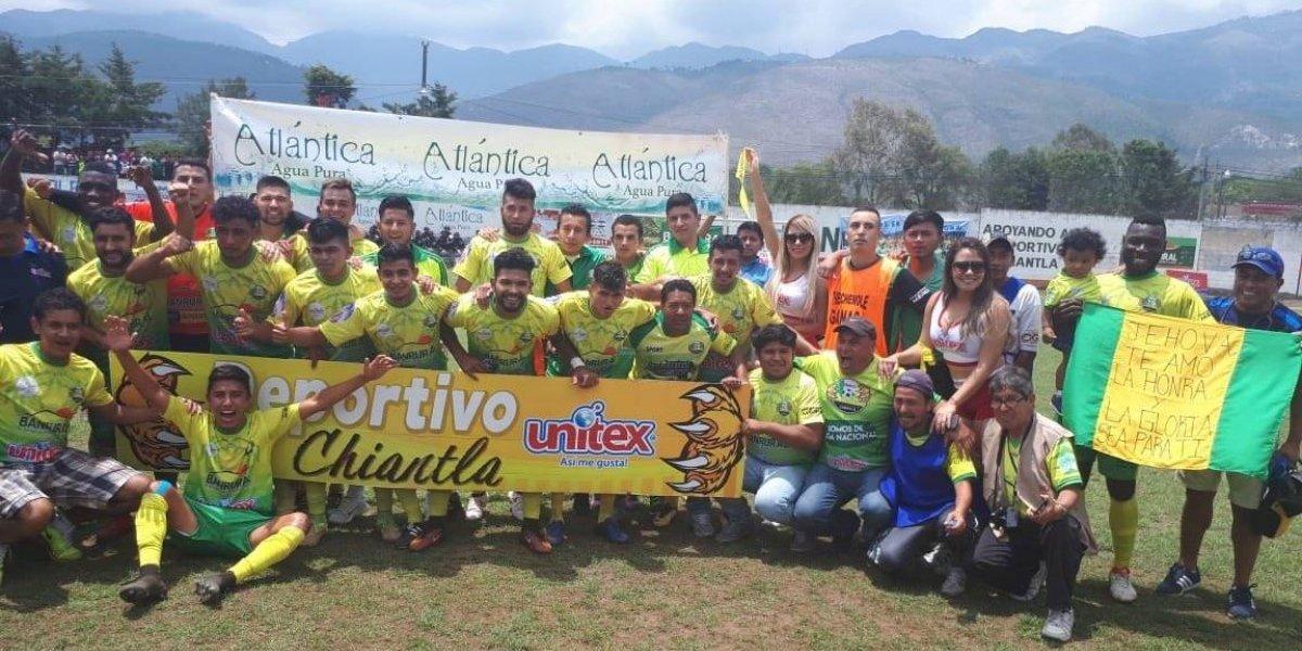 Deportivo Chiantla hace historia y asciende a la Liga Mayor
