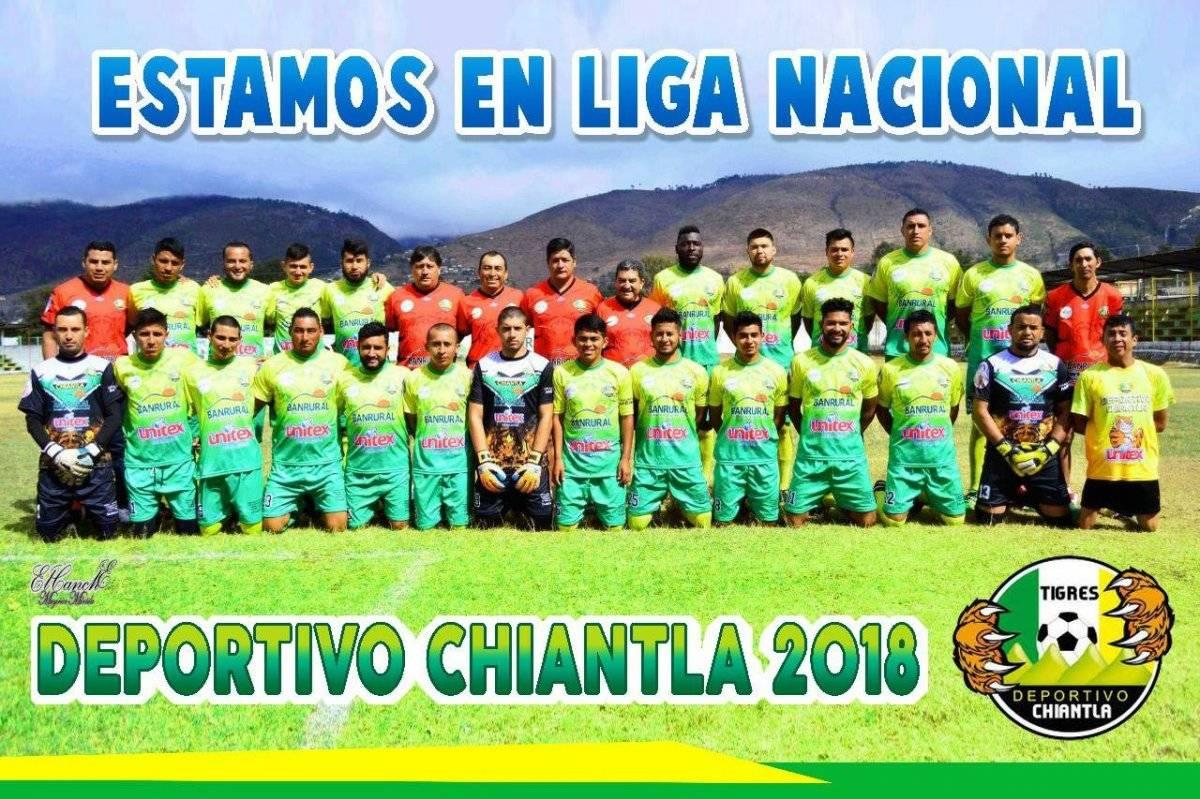 Deportivo Chiantla asciende a Liga Nacional