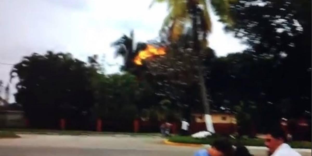 Video muestra el momento preciso en que explota el avión en La Habana