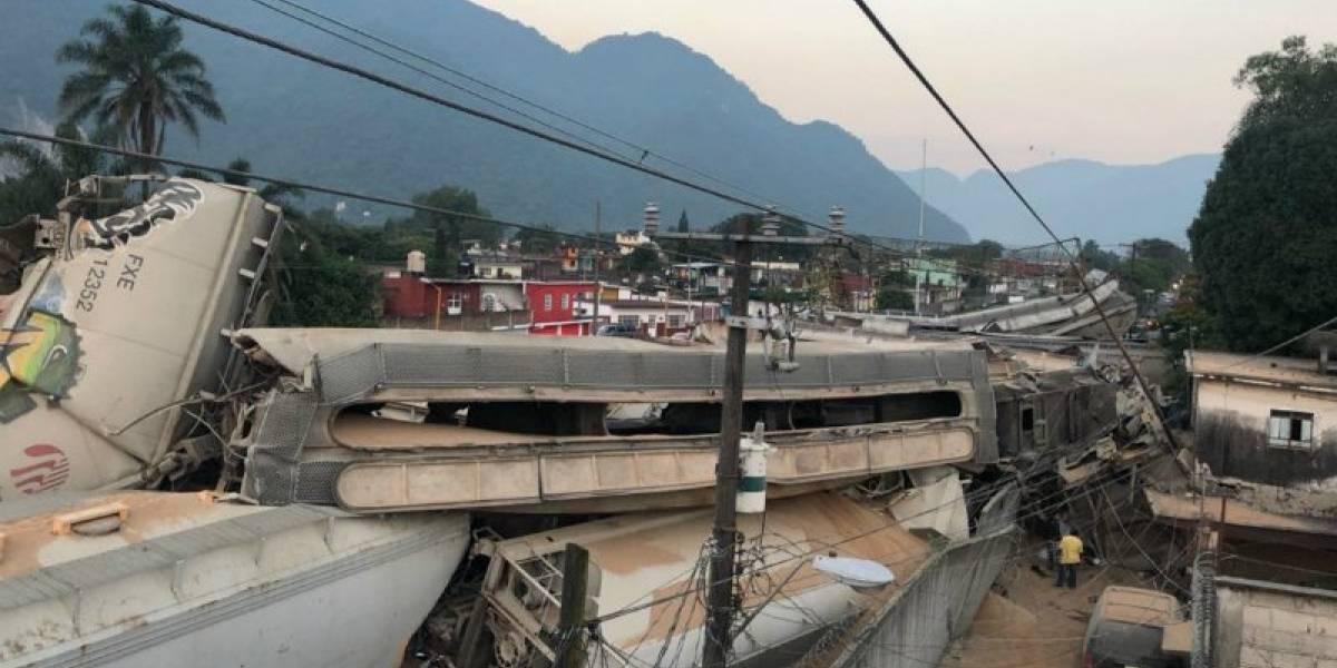 Choque de trenes en Orizaba fue provocado por actos de sabotaje