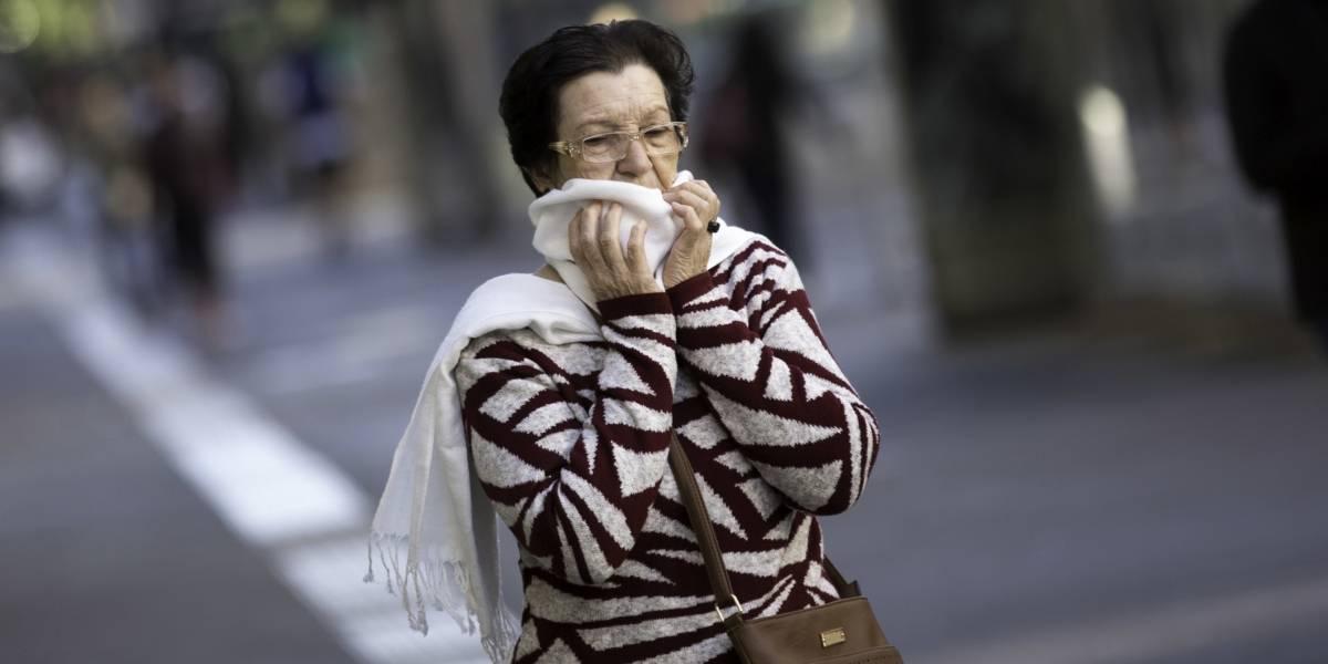 Após recorde, frio deverá aumentar hoje em São Paulo