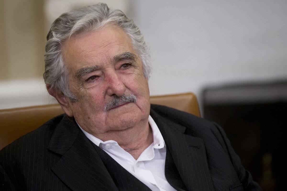 José Mujica en visita a la Casa Blanca