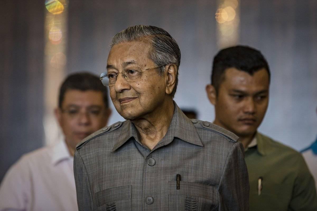 Mahathir Mohamed, primer ministro de Malasia