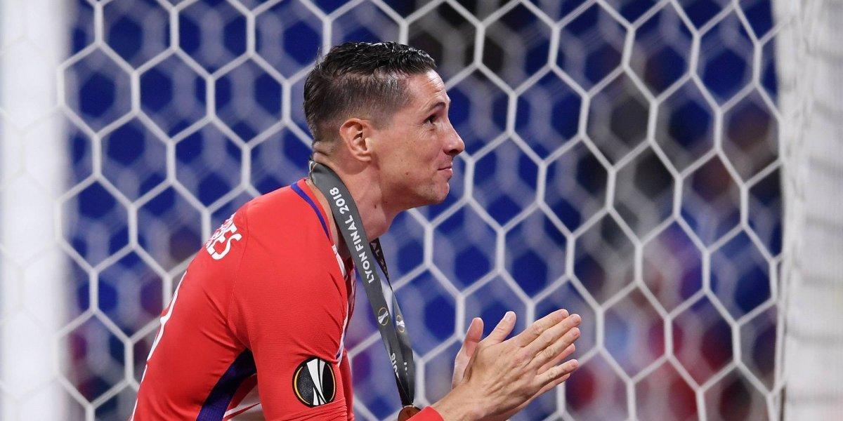 VIDEO: Atlético de Madrid le dice adiós a Fernando Torres con tifo de ensueño