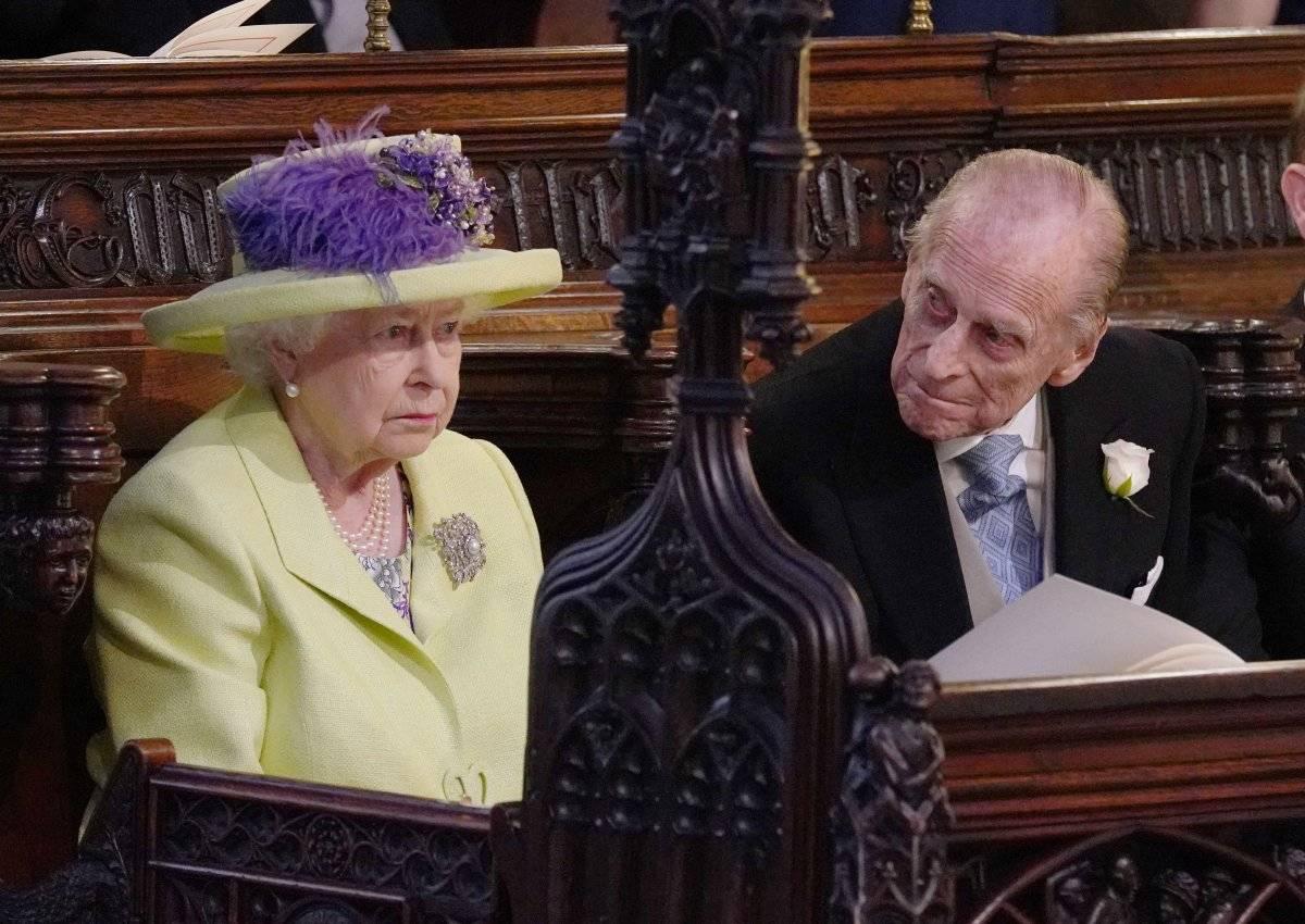 Reina Isabel II, de 91 años de edad