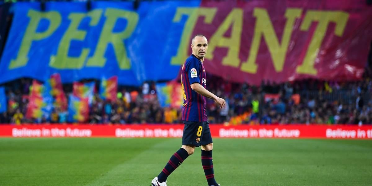 """Iniesta infinito: el """"Cerebro"""" jugó su último partido por Barcelona"""