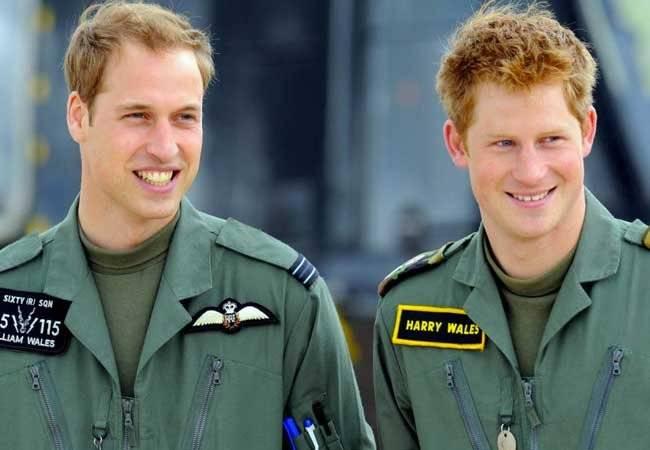 Harry y William