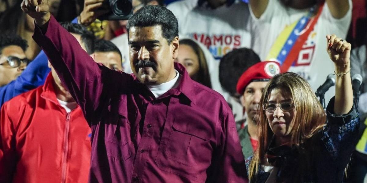 """VIDEO. Maduro proclama su reelección en Venezuela con """"récord histórico"""""""