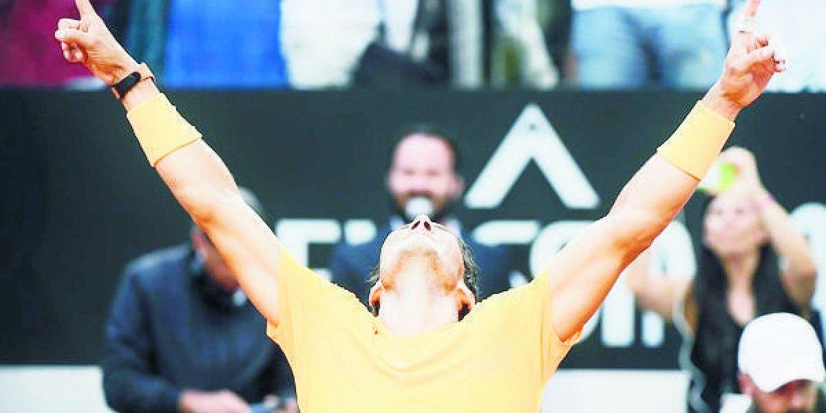 Rafa Nadal gana Roma y vuelve a ser No 1