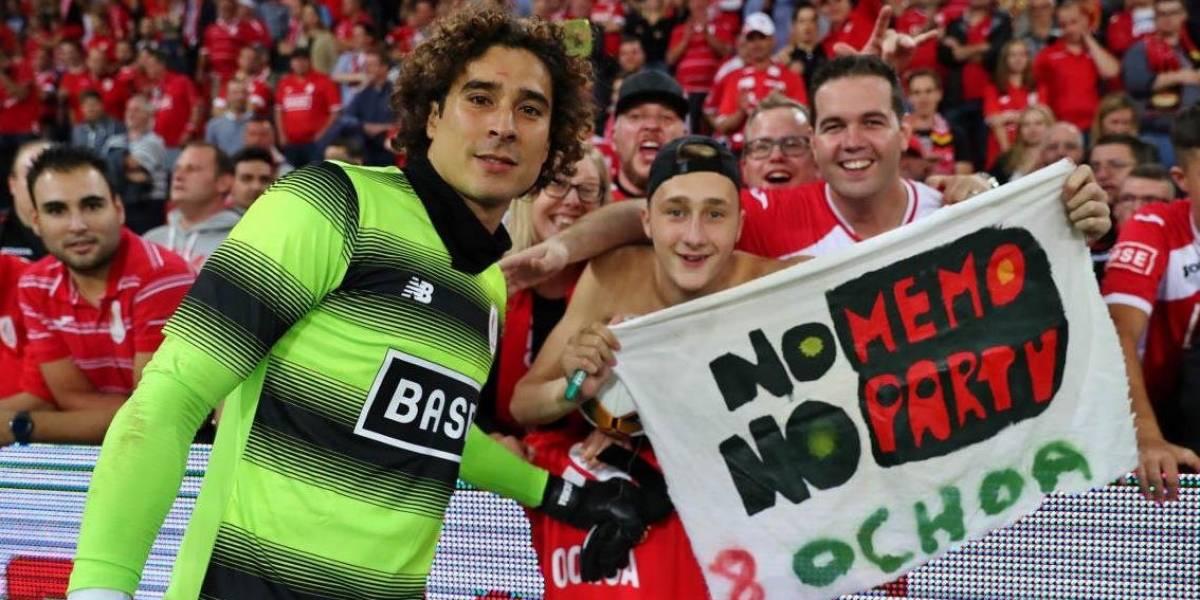 Ochoa y el Standard aseguran su presencia en la Champions League