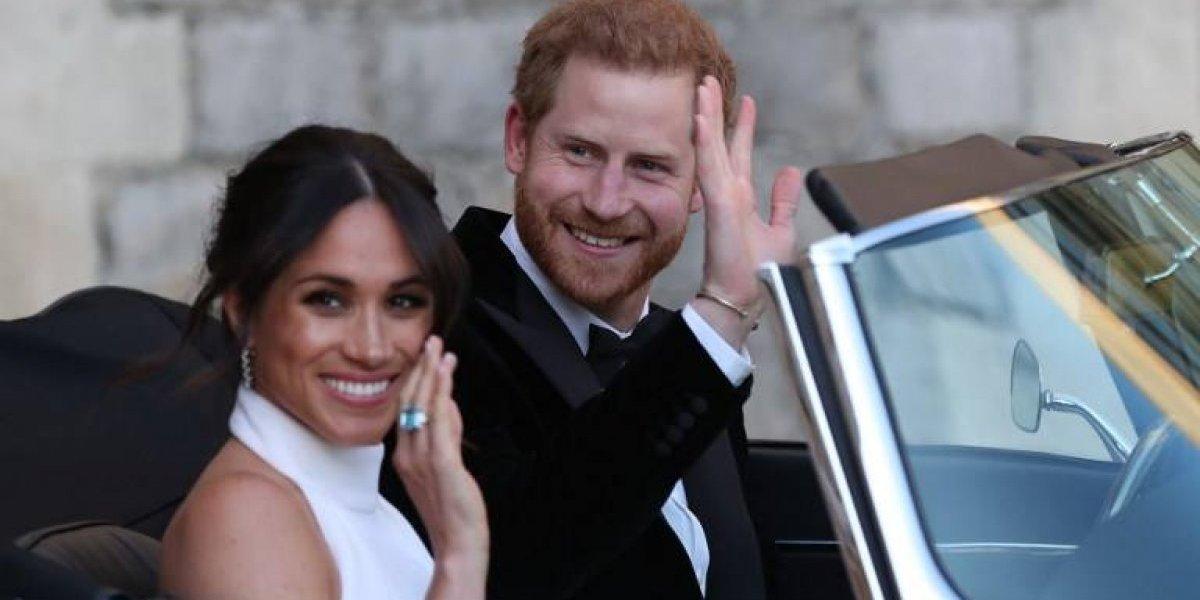 El detalle oculto en el auto del príncipe Harry y Meghan que nadie notó