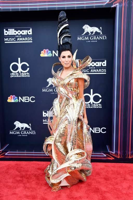 Los peores vestidos Billboard Music Awards Fotos: AFP