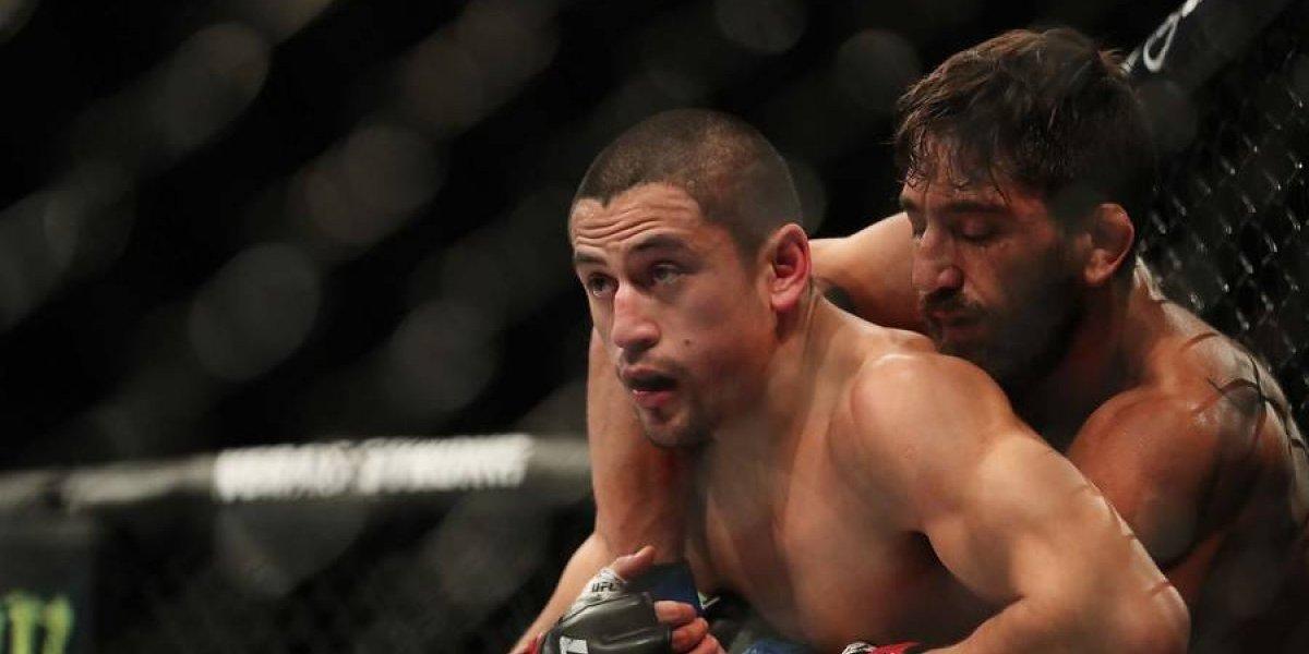 El delirio por Diego Rivas y la furia por la derrota marcaron la trastienda de la primera visita de la UFC a Chile