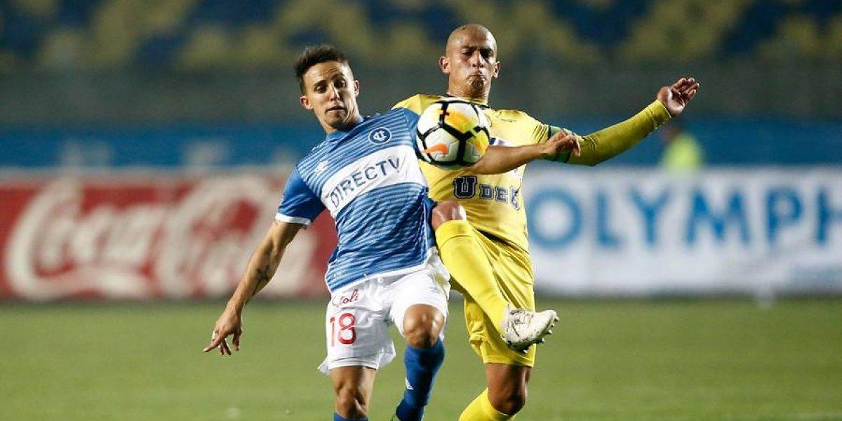 La UC rescató un empate ante su escolta U. de Concepción y mantuvo la cima en el Campeonato Nacional