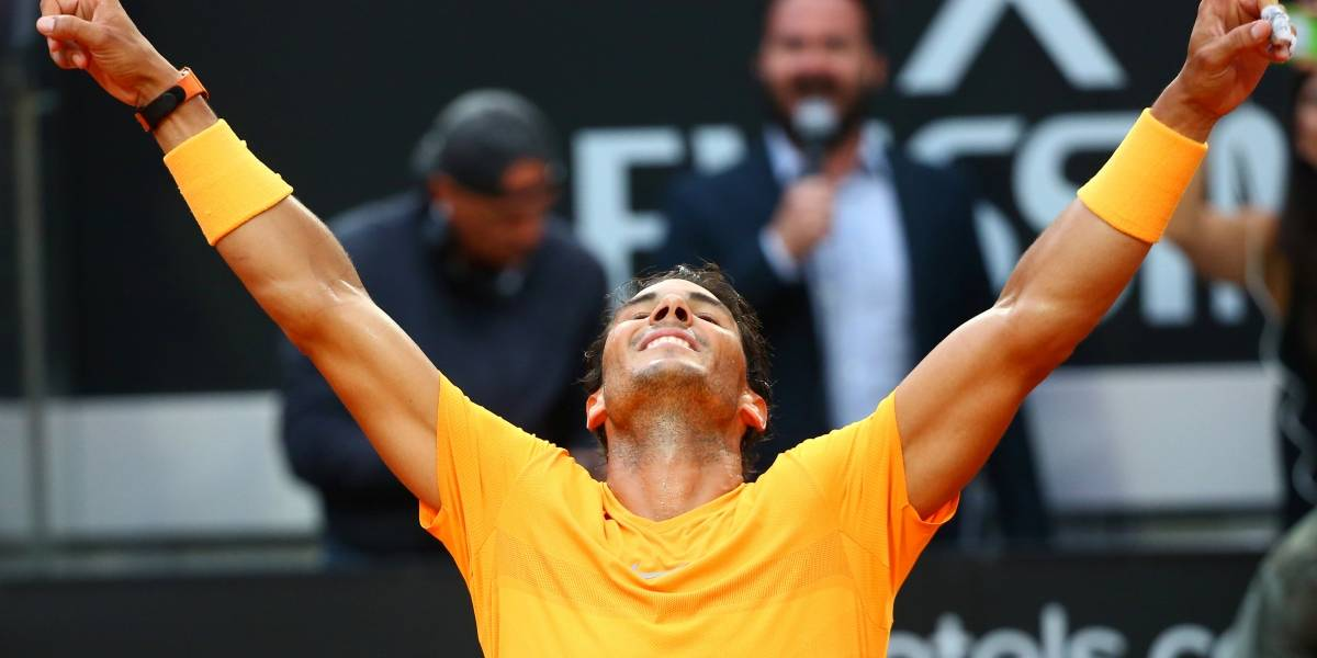 Nadal bate Zverev, leva oitavo título em Roma e voltará a liderar ranking