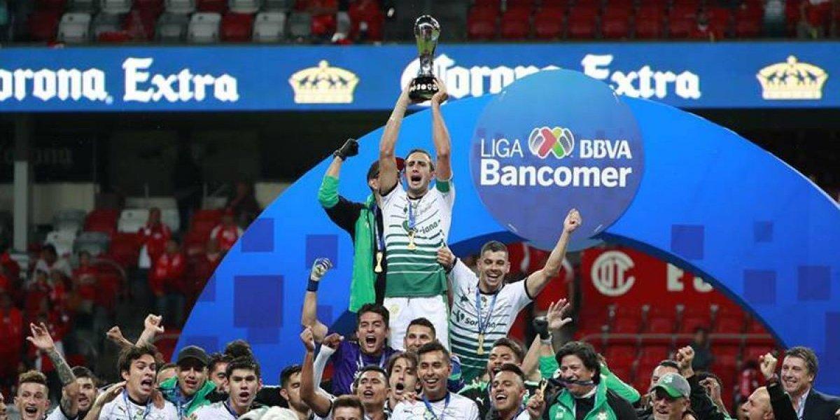 Santos gana su sexto título en el futbol mexicano