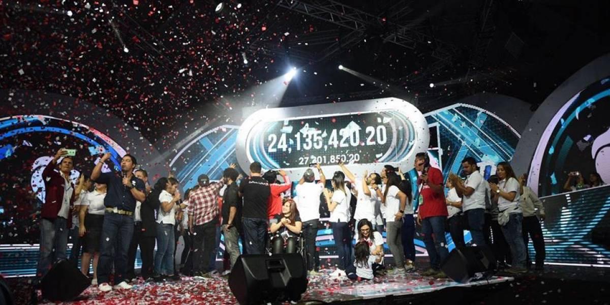 ¿Alcanzaron la meta? Así culmina una edición más de la Teletón en Guatemala