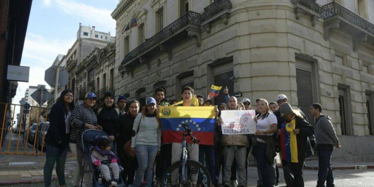 Protestas de venezolanos alrededor del mundo