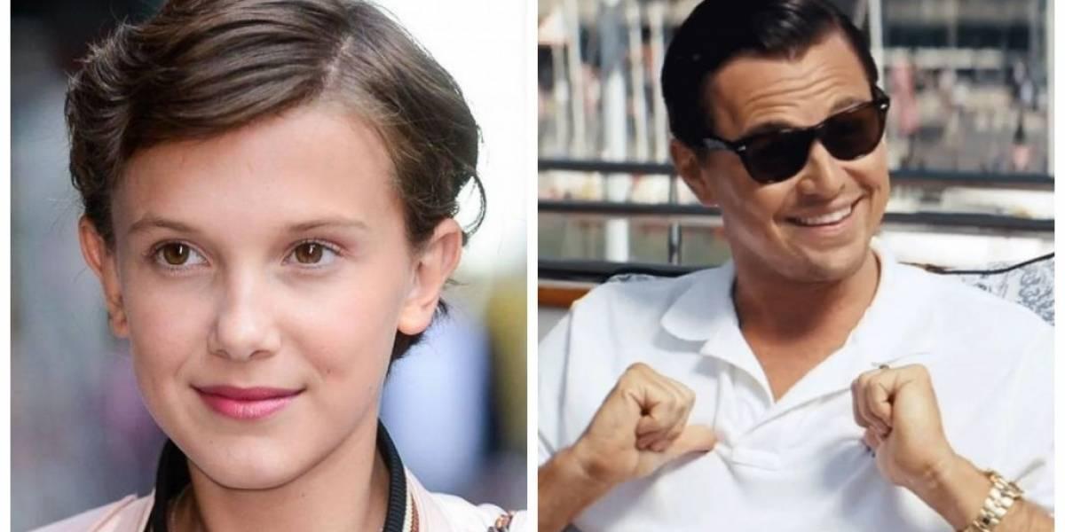 Stranger Things: Millie Bobby Brown quer ver Leonardo DiCaprio como seu irmão na série