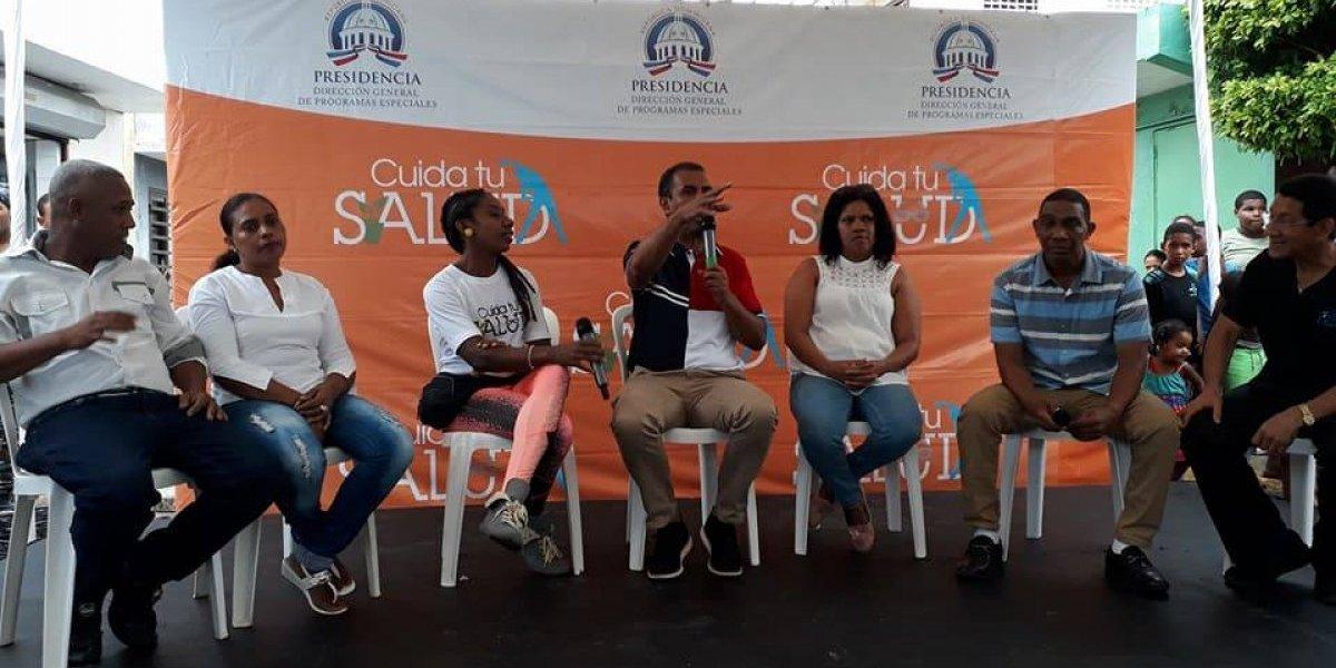 """DIGEPEP inaugura el punto 86 de """"Cuida tu Salud"""" en el sector de Gualey"""