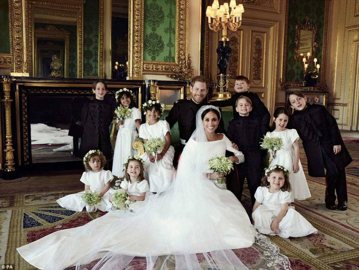 Foto oficial boda real