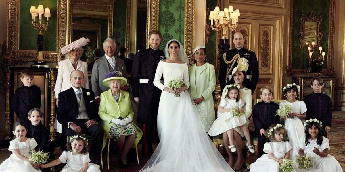 """""""Un matrimonio de ensueño"""": Este es el álbum de fotos oficiales de la Boda Real de Harry y Meghan"""