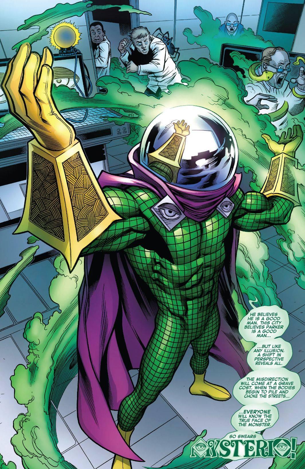 Mysterio, maestro de lo arcano