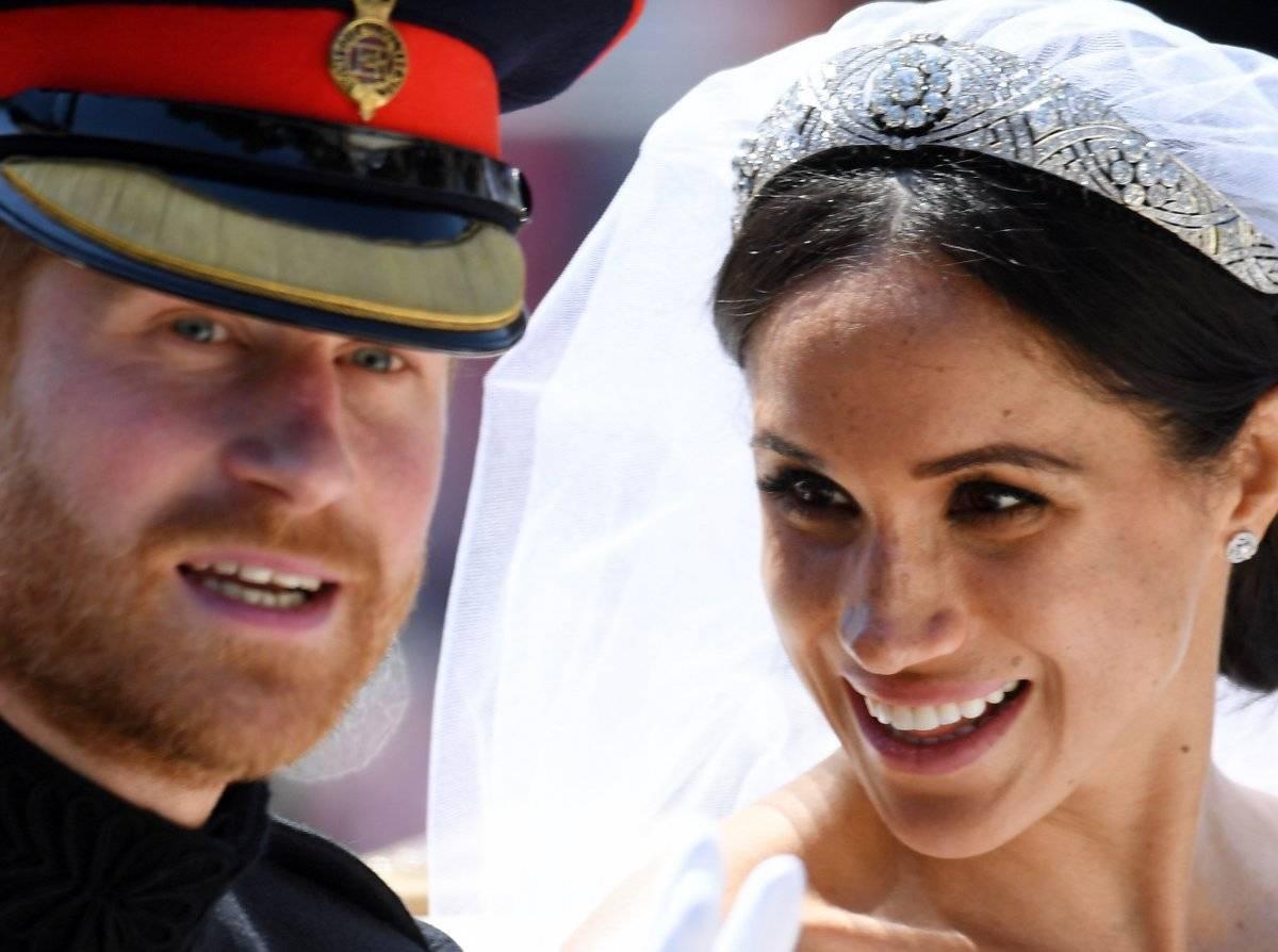 El duque Enrique de Sussex y su esposa la duquesa Meghan de Sussex,