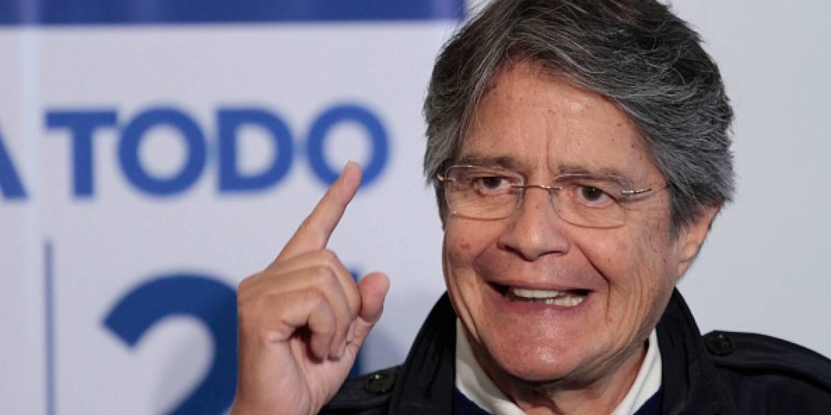 Guillermo Lasso pide al presidente Lenín Moreno no enviar delegación a ceremonia de Nicolás Maduro